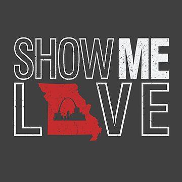Show Me Love - Missouri by LH-Creative