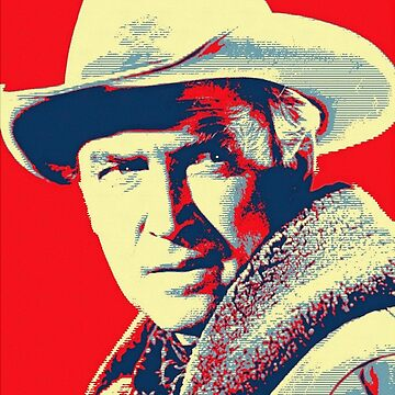 James Stewart in The Far Country by artcinemagaller
