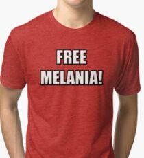 FREE MELANIA Tri-blend T-Shirt