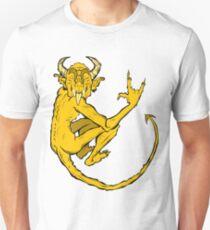 devil (gold) Unisex T-Shirt