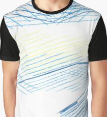 Abstract Starry Night Sky Graphic T-Shirt
