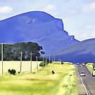 The Grampians in Victoria by Fran Woods