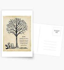 winnie the pooh - you are braver Postcards