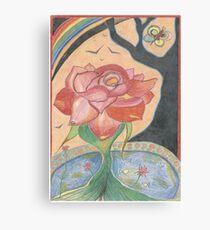 Passionate Rose Canvas Print