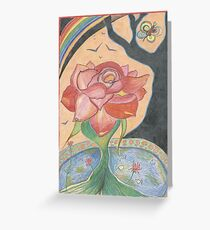 Passionate Rose Greeting Card