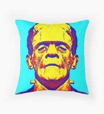Boris Karloff, alias in The Bride of Frankenstein Throw Pillow