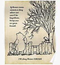 winnie the pooh - keep me in your heart Poster