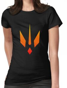 Heat Flash Trident Womens Fitted T-Shirt