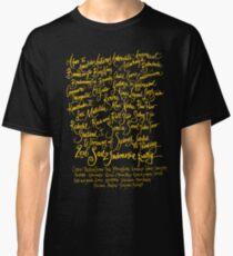 Sail2Indonesia Orange Ink Classic T-Shirt