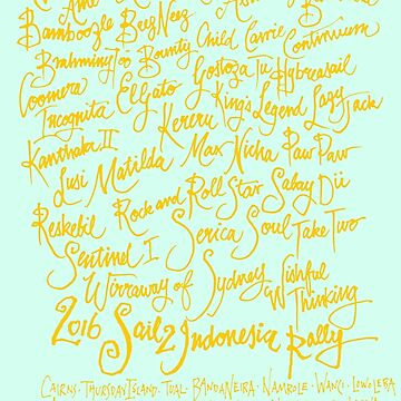 Sail2Indonesia Orange Ink by TigerFiSH