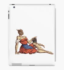 Lusty Argonian Maid Pinup 6 iPad Case/Skin