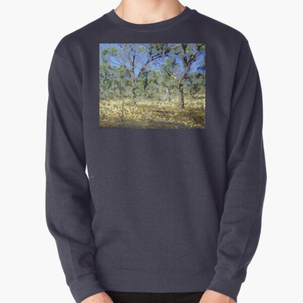 Mud Canvas Pullover Sweatshirt
