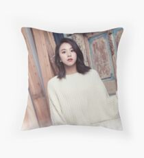 chaeyoung twice Throw Pillow