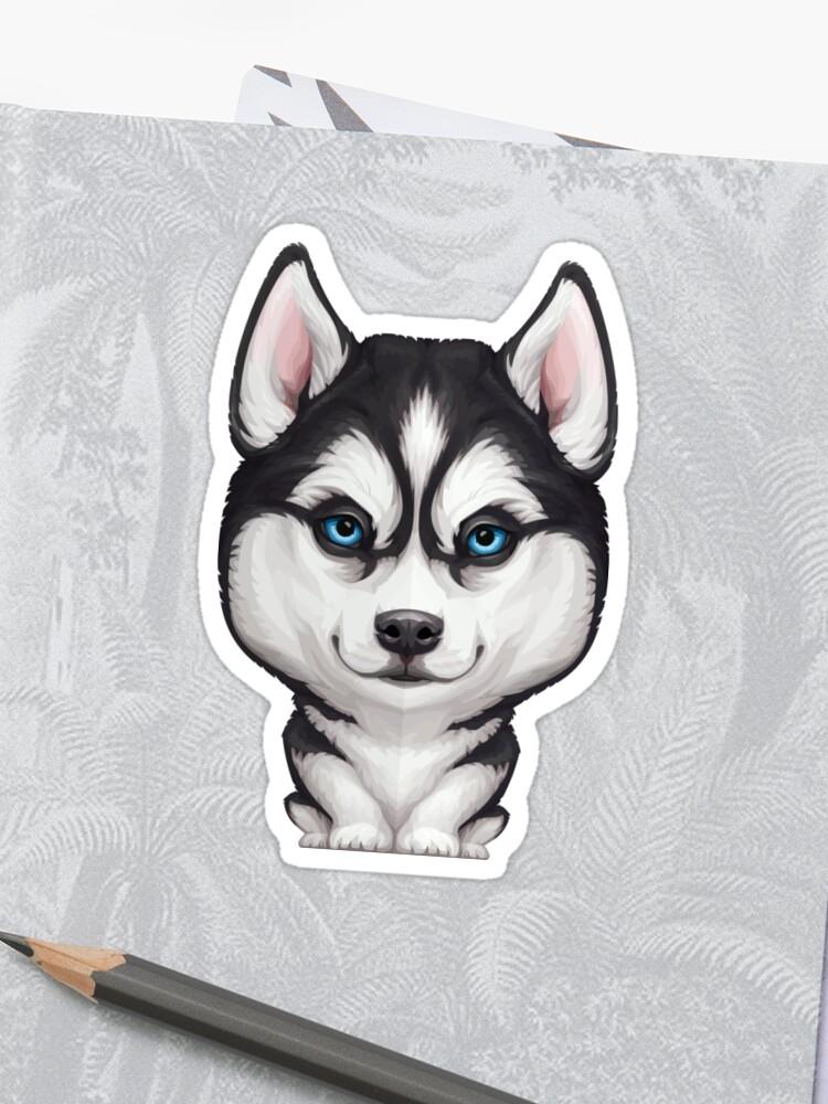 Siberian Husky Sticker
