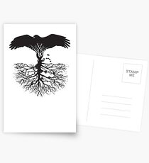 Bird of Pray: Rooted Postcards
