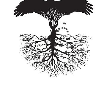 Bird of Pray: Rooted by raae