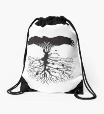 Bird of Pray: Rooted Drawstring Bag