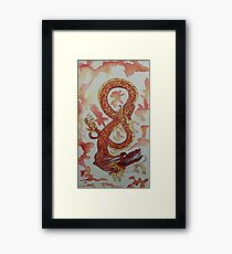 Yang Dragon Framed Print
