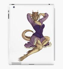 Lusty Argonian Maid Pinup 11 iPad Case/Skin