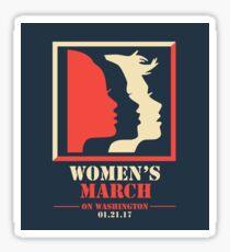 Women's March Sticker