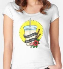 Horchata For Life  Women's Fitted Scoop T-Shirt