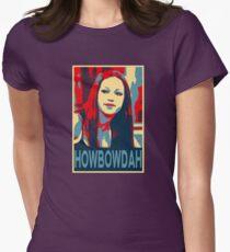 Howbow Dah? Womens Fitted T-Shirt