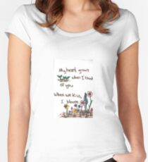 When I Bloom Women's Fitted Scoop T-Shirt