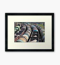 goods by rail Framed Print