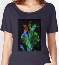 Abstract Flower 10117 FFF Women's Relaxed Fit T-Shirt