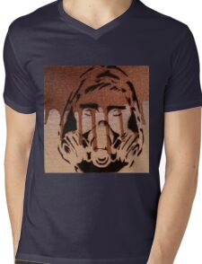 Undercover Gold Mens V-Neck T-Shirt