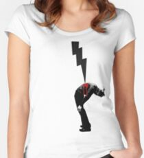 Wounded Women's Fitted Scoop T-Shirt