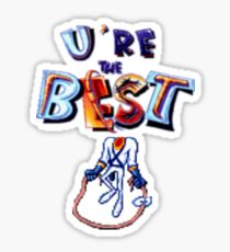 Earthworm Jim - You're The Best Sticker