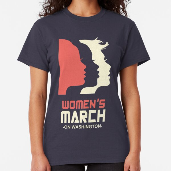 Official Women's March 2017 Tee Classic T-Shirt