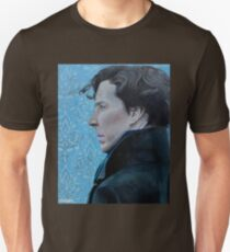 Sherlock Holmes Acrylic Painting Unisex T-Shirt
