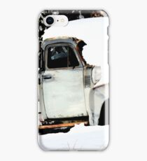 Chevy Truck in the Snow iPhone Case/Skin