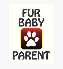 fur baby Art Print