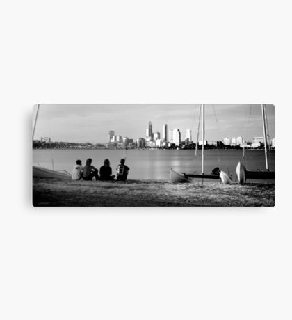 View from South Perth 1992 Canvas Print