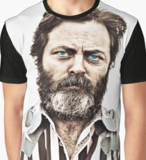 Nick Offerman  Graphic T-Shirt