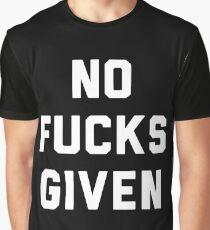 NO FUCKS GIVEN Graphic T-Shirt