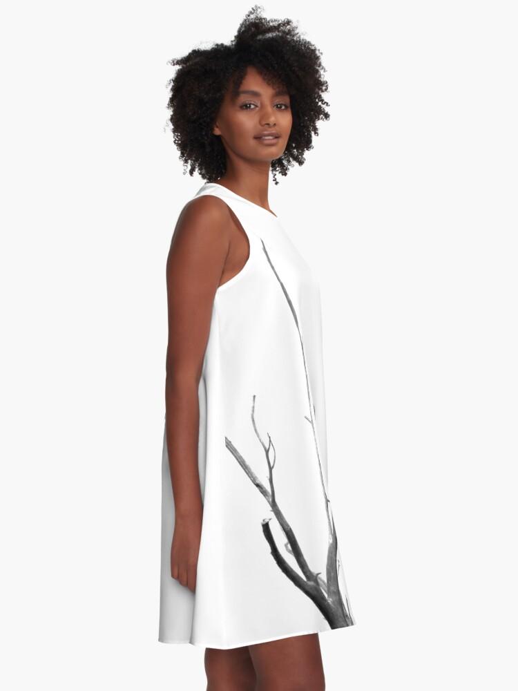 Alternate view of Bird A-Line Dress