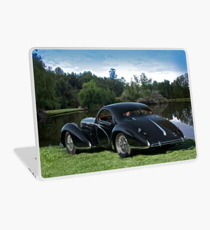 1938 Talbot-Lago T150 C Speciale Tear Drop Coupe I Laptop Skin