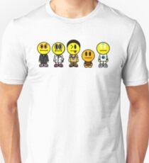 smileys lineup  Unisex T-Shirt