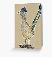 State Bird Series:  New Mexico - Roadrunner Greeting Card