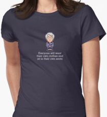 Carolyn from Cabin Pressure (shirt) Womens Fitted T-Shirt