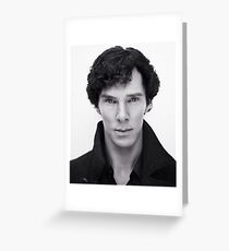 Benedict Cumberbatch In Sherlock Greeting Card
