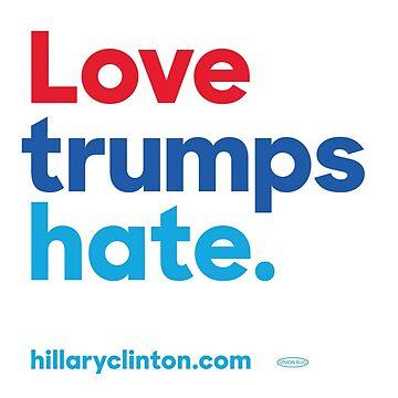 Love Trumps Hate by funhomies