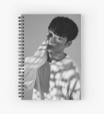 Jun seventeen Spiral Notebook
