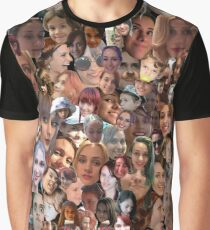 Face Collage  Graphic T-Shirt