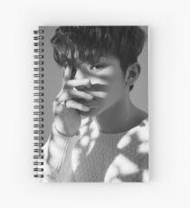 woozi seventeen Spiral Notebook