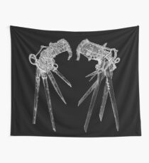 Scissorhands- Inverted Wall Tapestry